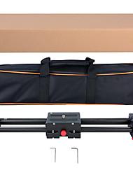 Slider slittino videocamera retrattile yelangu l50d dolly 50cm binario binario stabilizzatore 100cm carico reale a scorrimento fino a 5kg