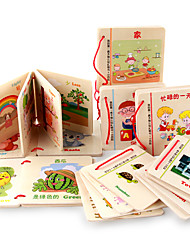 cheap -Reading Toys Wood 3-6 years old