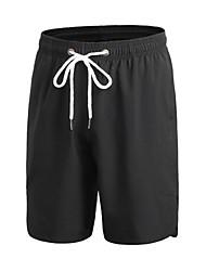 Недорогие -Муж. Беговые шорты на резинке Фитнес, бег и йога Быстро сохнет Анатомический дизайн Дышащий Легкие Спортивный Шорты Мешковатые шорты