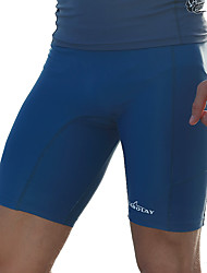 abordables -SABOLAY Hombre Pantalones de Natación Canotaje, Resistente a los UV Elastán / Terileno Ropa de playa Prendas de abajo Natación