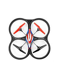 cheap -RC Drone WL Toys V333 4CH 6 Axis 2.4G - RC Quadcopter LED Lighting Auto-Takeoff Failsafe Headless Mode Hover With Camera RC Quadcopter