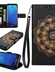Case for Samsung Galaxy S8 Plus S7 Edge Case Cover The Mandala Pattern PU Leather Cases for Samsung Galaxy S6 S5 S4 S3