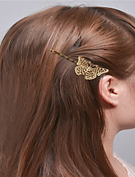 cheap -Europe and the United States foreign trade fashion simple hair accessories Natural joker girls hair clips The bionic butterfly clip tire A0310-0311