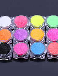 12PCS import monochromatic phosphors suit 1g