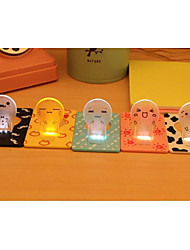 Portable  Cute Portable Pocket Fold switch LED Card Night Lamp Put In Purse Wallet Convenient Light