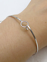 cheap -Women's Bangles Fashion Alloy Circle Jewelry Casual/Daily 1pc