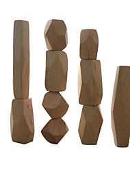 baratos -Blocos de Construir Blocos Lógicos Brinquedos Equilíbrio Tamanho Grande De madeira Crianças Peças