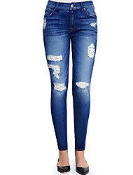 Women's High Waist strenchy Jeans Shorts Pants,Street chic Sexy Simple Wide Leg Solid