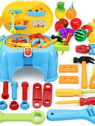 Недорогие -Строительные инструменты Игрушечные инструменты Ящики для инструментов Безопасность Пластик Детские Мальчики Игрушки Подарок 1 pcs