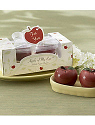 cheap -Practical Favors - 1Box/Set - mini Apple Salt and Pepper Shakers Set Party Favours