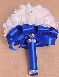 "Wedding Flowers Bouquets Wedding Foam Satin 8.27""(Approx.21cm)"