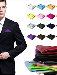 cheap -Men's Retro Style Pocket Square Wedding Men's Handkerchief Hanky Wedding Party