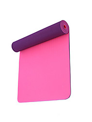 cheap -Yoga Mats 183*61*0.6 Non-Slip Anti-tear Lightweight TPE (1/4 inch) 6 mm for Yoga Pilates Exercise & Fitness