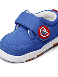 cheap -Boys' Shoes Fabric Spring / Fall First Walkers / Light Soles Flats Magic Tape for Royal Blue / Wedding / Party & Evening
