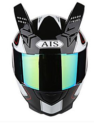 cheap -AIS 605 Motorcycle Helmetmale And Female Half Full Helmet Coat Style Cool Four Seasons Summer Helmet Motorcycle Racing Horn With Black Tea Lens