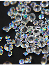 cheap -200pcs/box Pointed Crystal AB Rhinestone Mixd Clear Nail Rhinestones Mix Nail Art Decoration Accessory