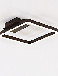 cheap -Chic & Modern Modern/Contemporary Bulb Included Flush Mount Ambient Light For Living Room Bedroom Indoor Warm White White 3840lm 110-120V