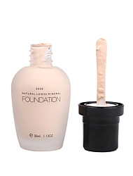 cheap -1Pcs Mineral Cream Face Facial Cosmetics For Women Liquid Foundation Natural Loose Beauty Makeup Whitening Moisturizer