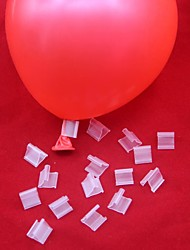 100PCS/1group Useful Balloons Sealing Clip Ballon  Wedding/Birthday/Christmas Party Decoration Supplies