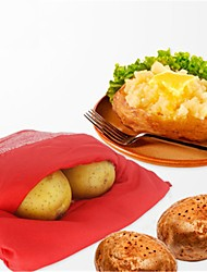 Oven Microwave Baked Red Potato Bag for Quick Fast In Just 4 Minutes Potato Bags