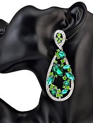 Women's Drop Earrings Rhinestone Acrylic Basic Unique Design Pendant Rhinestones Friendship Statement Jewelry Africa Durable Simple Style