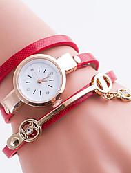 Women's Bracelet Watch Digital Metal Band Black White Blue Red Green Gold