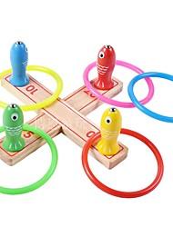 Недорогие -Магнитные игрушки Рыболовные игрушки Устройства для снятия стресса Игрушки Магнитный Круглый Рыбки Дерево другие Куски Для детей Подарок