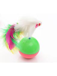preiswerte -Katze Katzenspielsachen Haustierspielsachen Maus-Spielzeug Becher Maus Für Haustiere