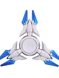 cheap -Fidget Spinner Hand Spinner Spinning Top Relieves ADD, ADHD, Anxiety, Autism Focus Toy Stress and Anxiety Relief Chrome Pieces Boys'