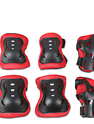 Kids' Protective Gear Knee Pads + Elbow Pads + Wrist Pads for Ice Skating Skateboarding Inline Skates Hoverboard Shock Proof Scratch