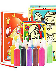 cheap -Pretend Play Stress Relievers Art & Drawing Toy Rectangular Painting Eco-friendly DIY Unisex