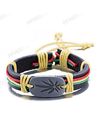 cheap -MPL Europe and the United States fashion retro color leather bracelet