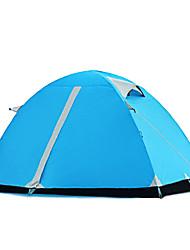 economico -WOLF WALKER® 2 persone Tenda Doppio Tenda da campeggio Una camera Tenda ripiegabile per Campeggio Viaggi 2000-3000 mm 200*150*130 CM