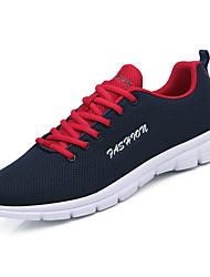Недорогие -Муж. обувь Полиуретан Весна / Осень Удобная обувь / Светодиодные подошвы Спортивная обувь Беговая обувь Черный / Темно-синий / Серый