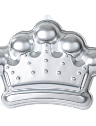 Imperial crown shape Aluminum Alloy Anodizing Baking Mold Cake Mold Biscuit Mold