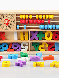 Building Blocks Toy Abacuses Educational Toy Toys Square Wooden Wood Pieces Kids Kid Gift