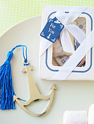 cheap -Practical Nautical Bookmark and Bottle Opener Wedding Favors