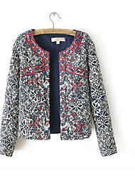 cheap -Women's Vintage Jacket - Embroidery