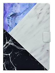 Étui pour apple ipad pro 10.5 9.7 '' support de carte de couverture avec motif de stand corps corps en cuir dur pu cuir ipad (2017) 2 3 4