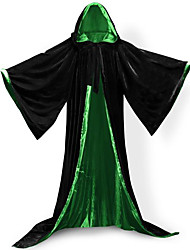 economico -Costumi da mago Cappotto Costumi Cosplay Mantello Scopa da strega Accessori Halloween Vestito da Serata Elegante Stile Carnevale di