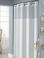 cheap -URBANLIFE Hookless Litchfield - 42 x 74 Shower Curtain