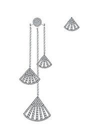 Per donna Orecchini a goccia Gioielli Pendente Mancata corrispondenza Argento sterling Gioielli Per Da giorno Formale