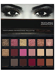 18 colors eye shadow Lidschattenpalette Trocken Lidschatten-Palette Puder Set Alltag Make-up