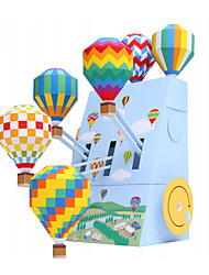 cheap -3D Puzzles Balls Paper Model Balloon Paper Craft Model Building Kit DIY Inflatable Party Classic Unisex Gift
