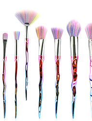 7 Makeup Brush Set Synthetic Hair Synthetic Plastic Face Eye MAKE-UP FOR YOU