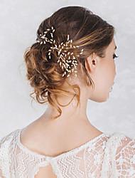 economico -stile elegante del copricapo del bastone dei capelli dello strumento di capelli dello strumento di perla d'imitazione