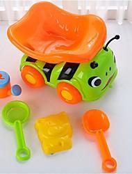 Недорогие -Игрушки для пляжа Песочные часы Пляжные игрушки Игрушки Веселье Большой размер Толстые Пластик Праздник Куски Для детей Мальчики Девочки