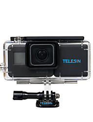 TELESIN 2300mAh Extended Backup Batteries BacPac Backpack Battery Replacement  Waterproof Case Housing for GoPro Hero 5