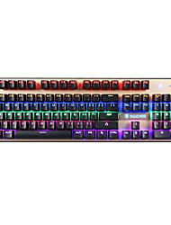 cheap -SADES 104Keys USB Green Axis Black Axis Backlit Mechanical Keyboard With 180 CM Cable