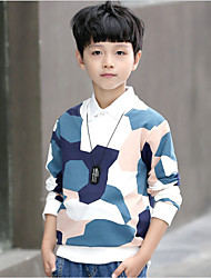 Boys' Print Blouse,Cotton Polyester Fall Long Sleeve